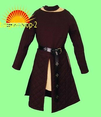 Thick padded Gambeson coat Aketon Medieval Armor COSTUMES DRESS SCA LARP