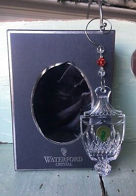 Waterford Jim O'Leary Lismore Celebration Ornament 159465 Mint in Box