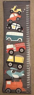 "NEW Oopsy Daisy ""Ways to Wheel"" growth chart"