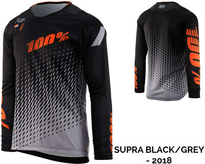 100 Percent R-Core DH Long Sleeve Jersey Mountain Bike