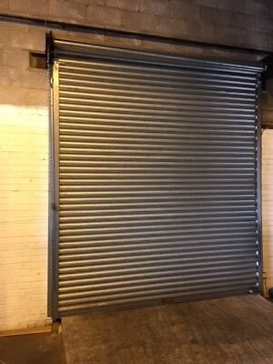 MANUEL ROLLER SHUTTER DOOR - 2.7M wide x 3M high