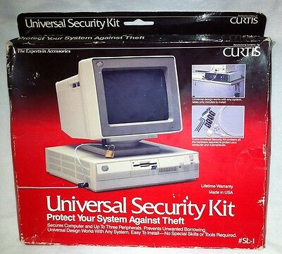 Curtis Laptop PC Security Kit