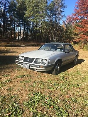1983 Ford Mustang GLX 1983 Ford Mustang Convertible 3.8L V6