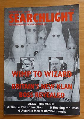 Searchlight 269 - Nov 1997 - The International Anti-Fascist Monthly (NF/BNP)