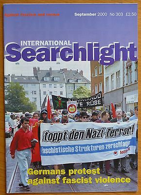 Searchlight 303 - Sep 2000 - The International Anti-Fascist Monthly (NF/BNP)