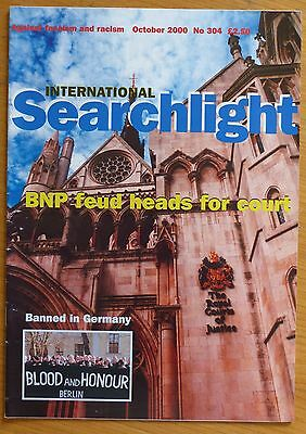 Searchlight 304 - Oct 2000 - The International Anti-Fascist Monthly (NF/BNP)
