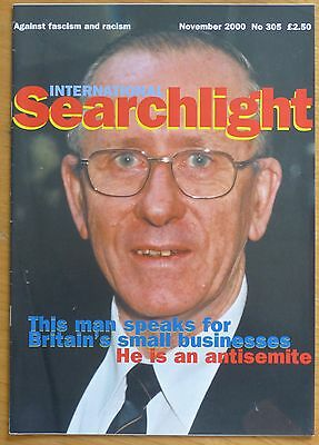 Searchlight 305 - Nov 2000 - The International Anti-Fascist Monthly (NF/BNP)