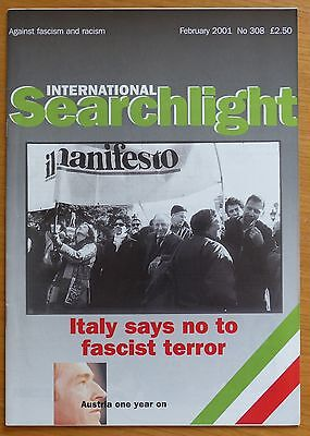 Searchlight 308 - Feb 2001 - The International Anti-Fascist Monthly (NF/BNP)