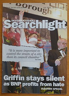 Searchlight 313 - Jul 2001 - The International Anti-Fascist Monthly (NF/BNP)