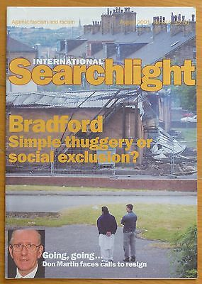 Searchlight 314 - Aug 2001 - The International Anti-Fascist Monthly (NF/BNP)