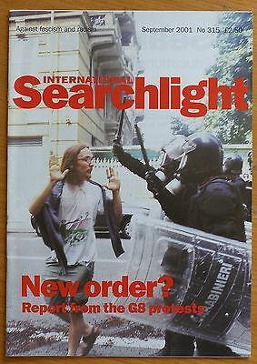 Searchlight 315 - Sep 2001 - The International Anti-Fascist Monthly (NF/BNP)