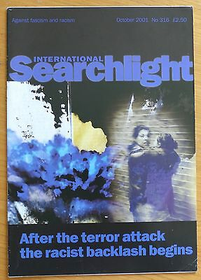 Searchlight 316 - Oct 2001 - The International Anti-Fascist Monthly (NF/BNP)