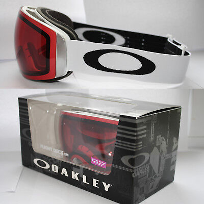 Oakley Flightdeck XM oo7064-02 Matte White, Prizm Rose RRP £180 Now £99