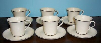 Lot 6 Gorham Bridal Bouquet Cups And Saucers Never Used Free U S Shipping