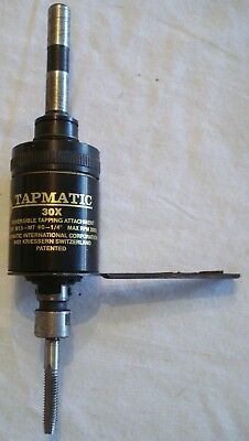 """Tapmatic 30X Reversible Tapping Attachment Cap M1.5-M7 2000rpm max 0-1/4"""""""