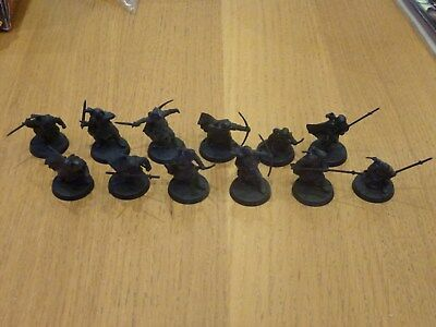 Games Workshop warhammer lord of the rings Rangers of the north x 12 lot gondor