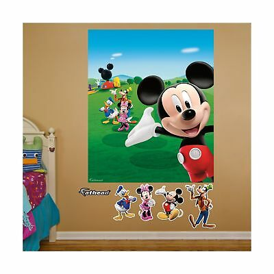 FATHEAD Mickey Mouse Clubhouse Mural Graphic Wall Dcor