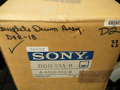 Sony DDH-23A-R, A-6050-654B  DVR-18 D2 Complete Drum Assembly, New