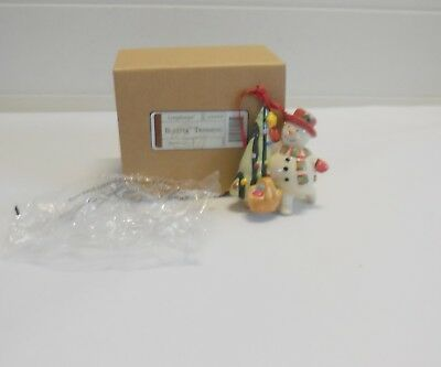 Longaberger Bluster Giving   Ornament New In Box