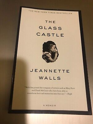The Glass Castle - Jeannette Walls~A Memoir~Very Good~Large Soft Cover~