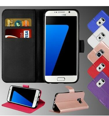 PU Leather Wallet Book Magnetic Flip Phone Case Cover For Samsung Galaxy S6