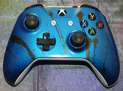 XBox One S Controller Brand New Custom Painted-  In Stock-Blue