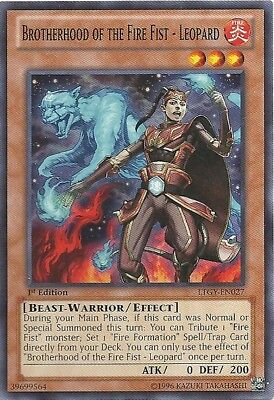 Yugioh! Brotherhood of the Fire Fist - Leopard - LTGY-EN027 - Common - 1st Near