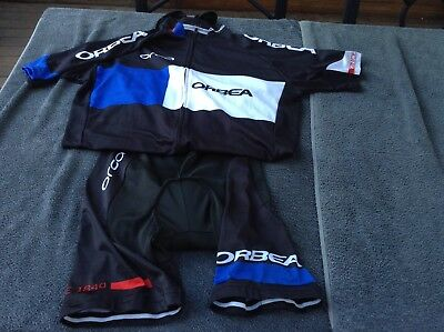 TEAM ORBEA 2XL/3XL cycling bib knicks shorts and jersey set shirt bicycle bike