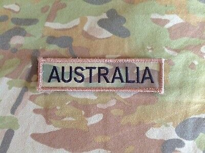 Iraq Afghanistan Multicam AUSTRALIA Velcro Patch
