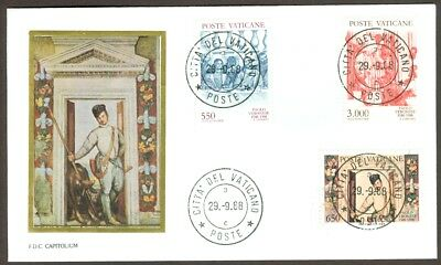 Vatican City Sc# 816-18, Death of Pablo Veronese on First Day Cover
