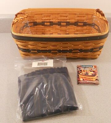 Longaberger Collectors Club 1997 Welcome Home Basket Combo Box (19)