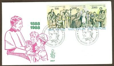 Vatican City Sc# 806, Death of St. John Bosco on First Day Cover