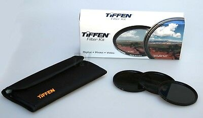 Tiffen Neutral Density 3 Filter Kit - 77mm 72mm 67mm 62mm 58mm 55mm 52mm  - NEW