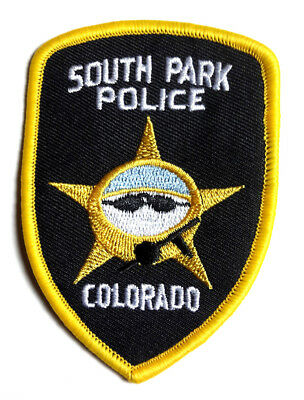 """South Park Police Department- Colorado 3.5"""" Patch- Mailed from USA (SOPA-0004)"""