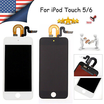 For iPod Touch 5/6 6th Gen Replacement LCD Touch Digitizer Screen Assembly A1574