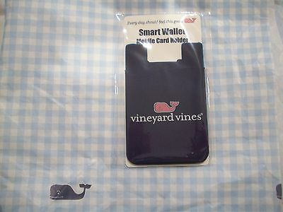 Vineyard Vines - New -Smart Wallet~Mobile Card Holder -Bonus 2 Whale  Stickers
