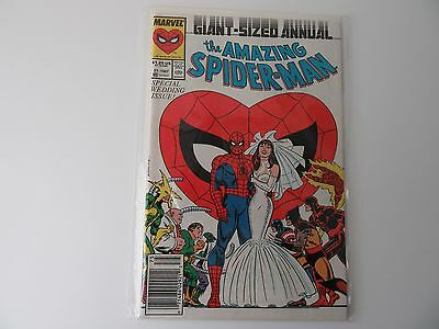 The Amazing Spider-Man Giant-Sized Annual 1987 #21 Special Wedding Issue - Mint