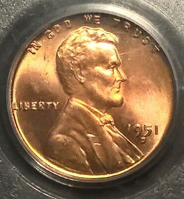 1951-D  Lincoln Cent  PCGS MS64RD CAC  DDO  FS-101