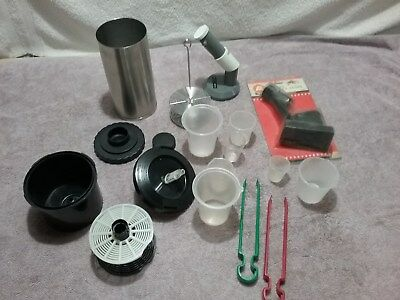 Lot of Vintage Photo Developing Tools Patterson Scope, Thermometer, Tank