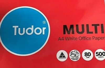 Tudor Multi A4 White Office Copy Paper Acid Free 80gsm 500 sheets ***159164***