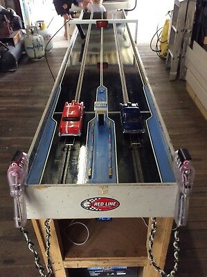 1/24 drag Slot Car track, Parma