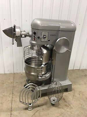 Hobart P660 60 Qt Mixer 2 1/2HP , Pelican Head, SS Bowl, Hook, Paddle, Whip,