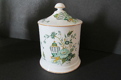 Crown Stafforshire - Kowloon Large Biscuit Barrel With Lid