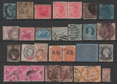 24 mixture of Australia state stamps used some faults