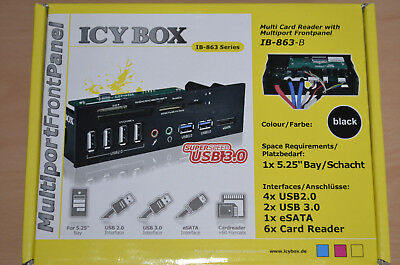 Cardreader Icy Box IB-863-B