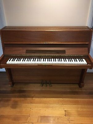 Concord Brashs 111cm Upright Piano & stool - Melbourne - Used Piano