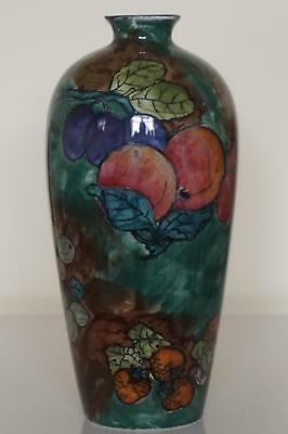 S.Hancock & Sons Titian Ware Meiping Shaped Vase - F.X.Abraham - c.1920's