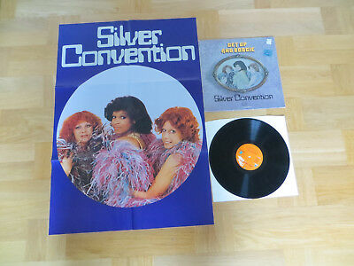 LP Vinyl Silver Convention Get up and boogie + Poster !