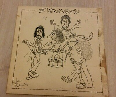 The Who - By Numbers Vinyl LP (Numbered Limited Edition)