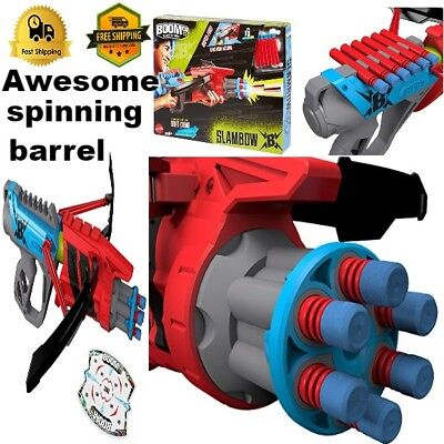 Kids Blaster gun toy with 6 darts unique crossbow design target Toy For boys